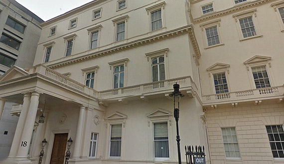 18 carlton house terrace uk real estate