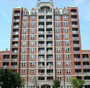 Oceana condo complex in Brighton Beach