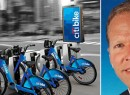 From left: Citi Bike and Alec Monaghan