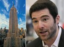 The Empire State Building and LinkedIn CEO Jeff Weiner