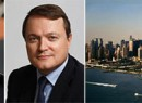 Stephen Ross, L'Oreal's Frederic Roze and Hudson Yards