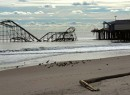 A boardwalk on the Jersey Shore post-Sandy