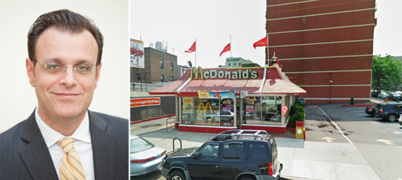 TerraCRG's Ofer Cohen and the McDonald's site