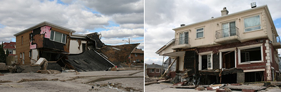 Rockaways properties after Hurricane Sandy