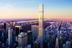 A rendering of 432 Park Avenue (Credit: dbox for CIM Group/Macklowe Properties)