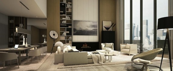 An interior rendering of 522 West 29th Street (Image via Montroy Andersen DeMarco)