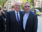 From left: Douglas Elliman Chairman Howard Lorber and the Witkoff Group's Steve Witkoff (Credit: Katherine Clarke)