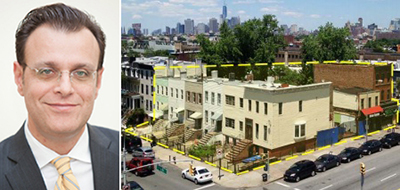 From left: Ofer Cohen and the 470 Fourth Avenue site