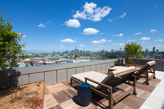 202 8th Street roof deck
