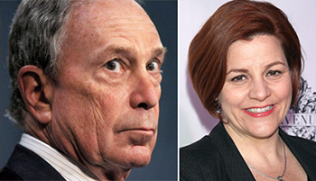Mayor Michael Bloomberg and Speaker Christine Quinn