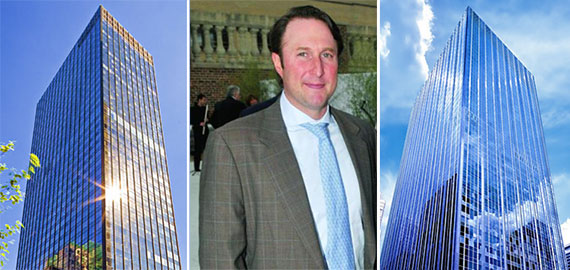 From left: 605 Third Avenue, Adam Spies and 1345 Avenue of the Americas