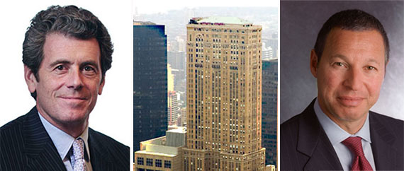 From left: Anthony Malkin, One Grand Central Place and William Cohen