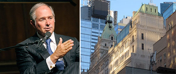 Blackstone's Stephen Schwarzman and 229 West 43rd Street