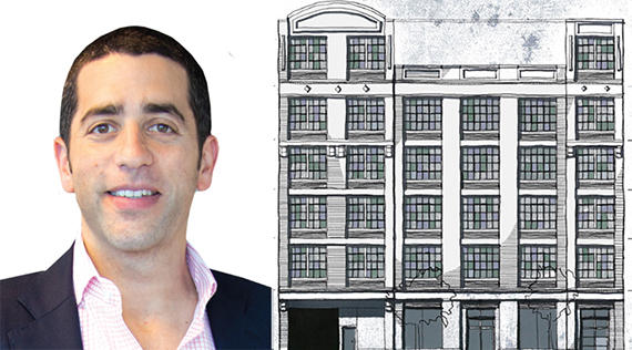 Silverstone's Martin Nussbaum, rendering of 65 North 6th Street