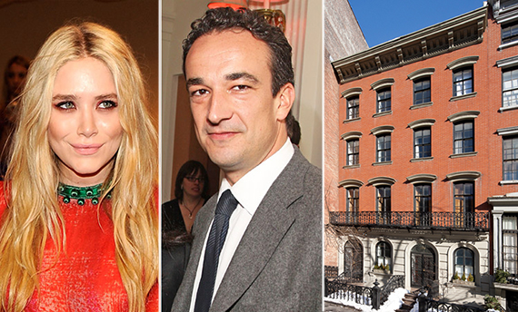From left: Mary-Kate Olsen, Olivier Sarkozy, 123 East 10th Street