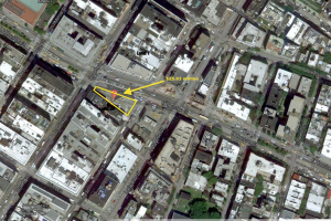 The MTA's parking lot in Soho (Image: Alex Davies via Google Maps)
