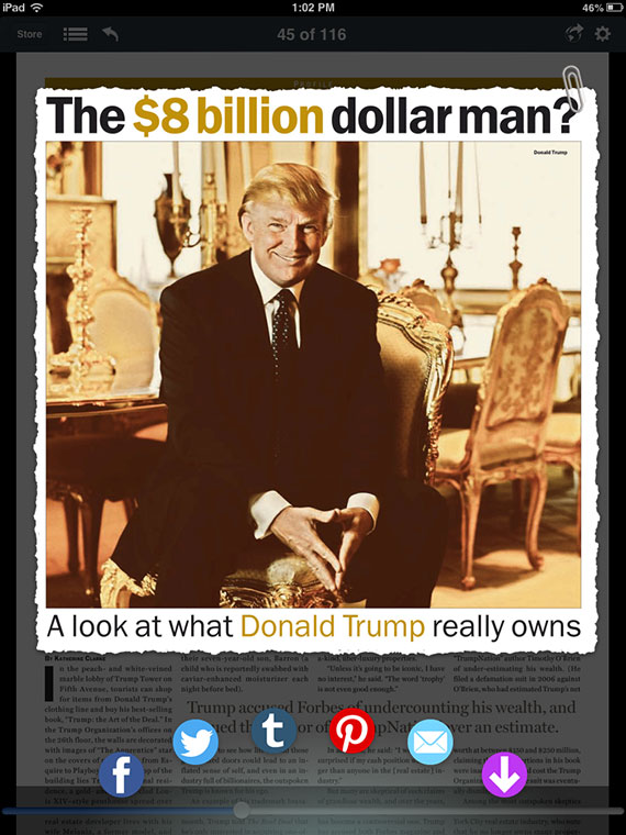 Trump-Clippings