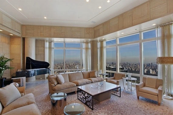 The 75th-floor penthouse at Time Warner Center