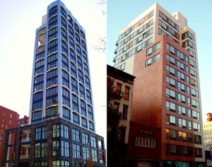 From left: 200 Eleventh Avenue and 231 Tenth Avenue