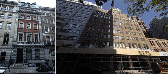 From left: 45 East 65th Street and 145 East 32nd Street