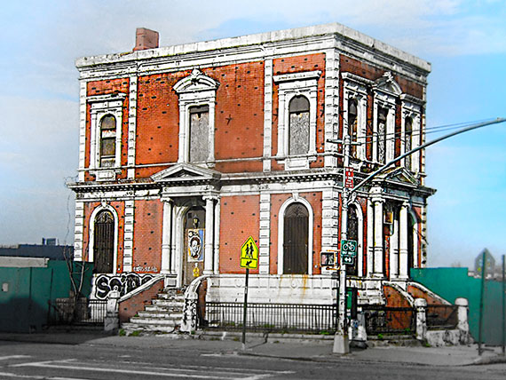 The Coignet building in Gowanus