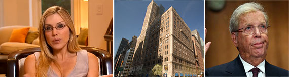 From left: Dolly Lenz, 510 Park Avenue and James Cayne