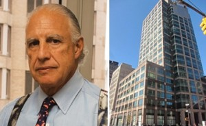 Edward Minskoff and 101 Sixth Avenue (building image via PropertyShark)
