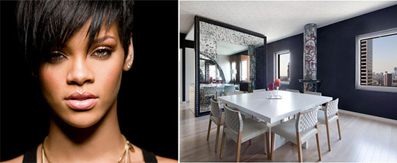 Rihanna and the Cassa NY penthouse at 70 West 45th Street