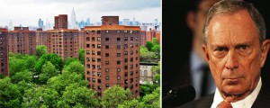 Baruch Houses and Michael Bloomberg
