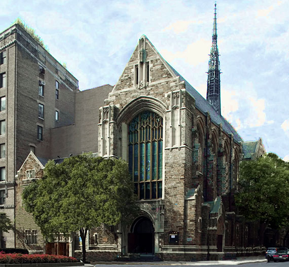 Park Avenue Christian Church at 1010 Park Avenue