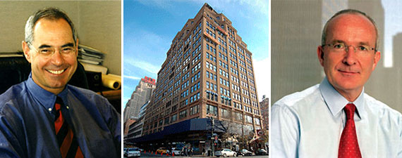 From left: Sherwood's Jeffrey Katz, 440 Ninth Avenue and Paramount's Albert Behler