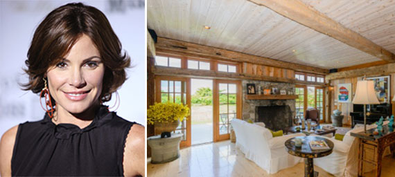 LuAnn de Lesseps and the Bridgehampton home
