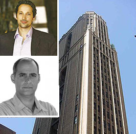 Clockwise from top left: Marwan Dalloul, Bush Tower and Elliott Ingerman