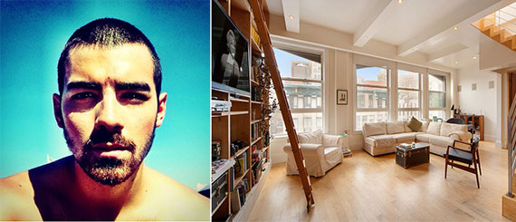 Joe Jonas and the penthouse at 21 East 22nd Street