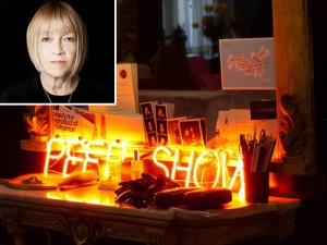Cindy Gallop (inset) and the loft at 213 West 23rd Street