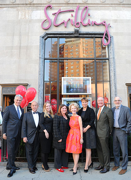 From left: Ken Scheff, Kirk Henckels, Catherine Witherwax, Elizabeth Ann Stribling-Kivlan, Elizabeth Stribling, Rebecca Mason, Chris Wilson, and Steve Rutter