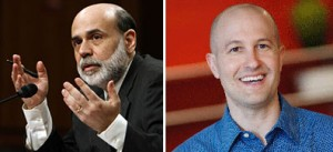 From left: Ben Bernanke and Jed Kolko
