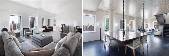 A penthouse at the Cassa Hotel & Residences at 70 West 45th Street