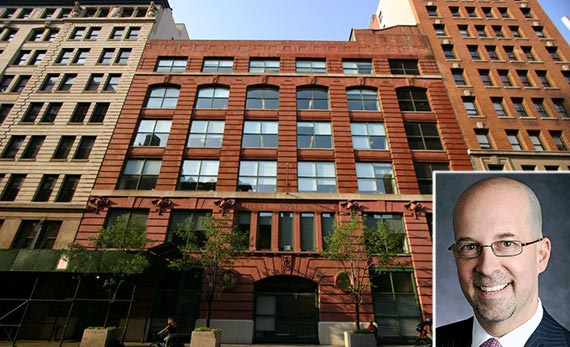 249-255 West 17th Street and NGKF's Jeffrey Roseman (inset)