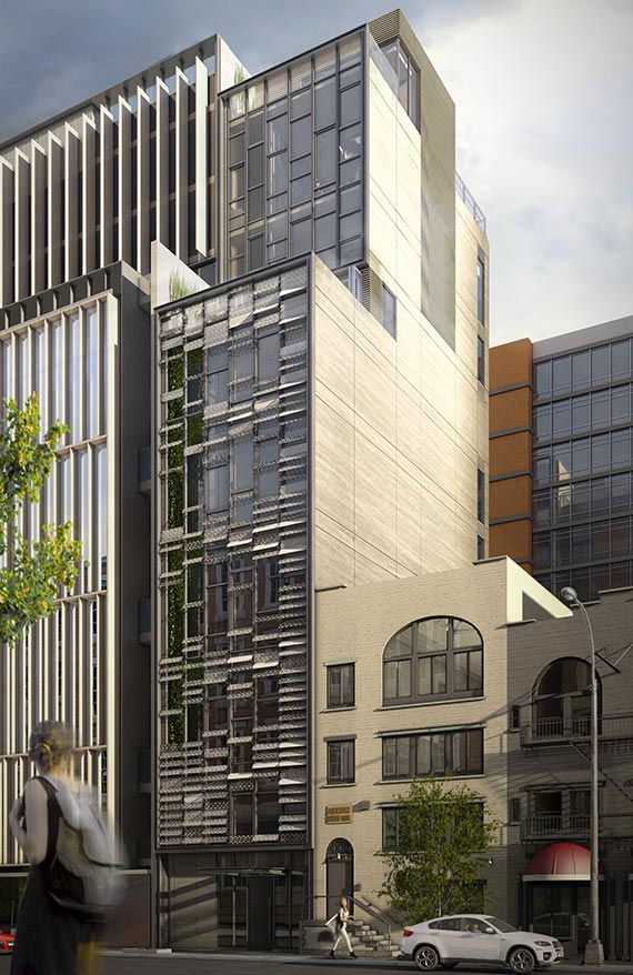 Rendering of 543 West 29th Street