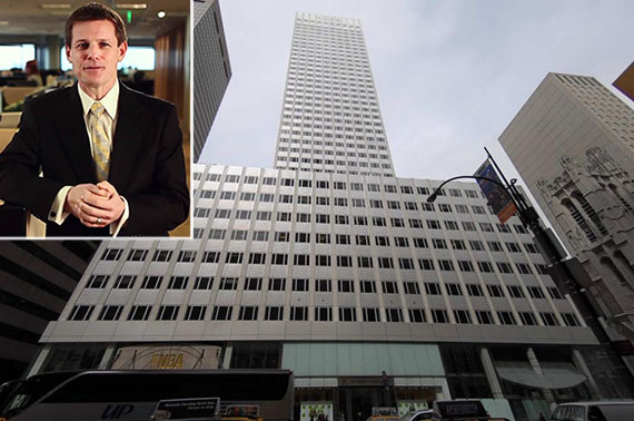 Colliers' Doug Frye (inset) and 666 Fifth Avenue