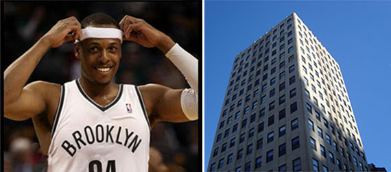 Paul Pierce and Franklin Tower