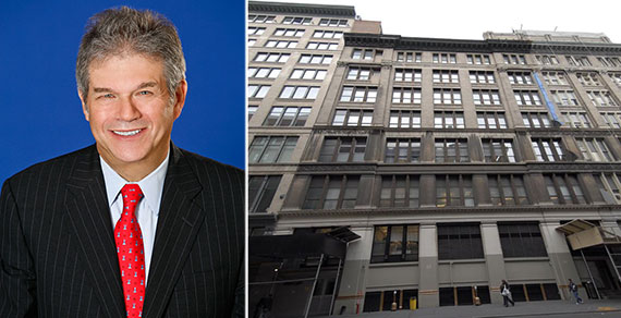 From left: The Kaufman Organization's George Kaufman and 111 West 19th Street