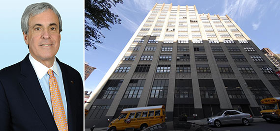 From left: Colliers' James Emden and 460-478 West 34th Street