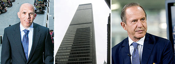 From left: Scott Rechler, 1 Chase Manhattan Plaza and Mort Zuckerman