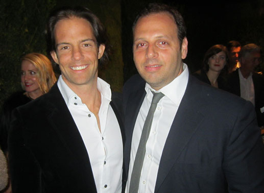 From left: Michael Shvo and Yuval Greenblatt of Douglas Elliman