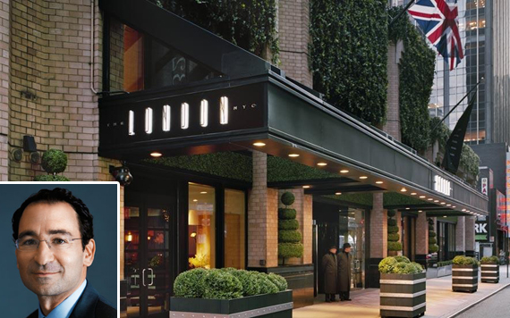 Blackstone's Jon Gray and the London Hotel at 151 West 54th Street