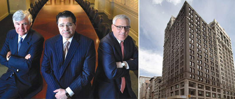 From left: Carlyle Group co-founders, William Conway Jr., Daniel D'Aniello and David Rubenstein and 920 Broadway