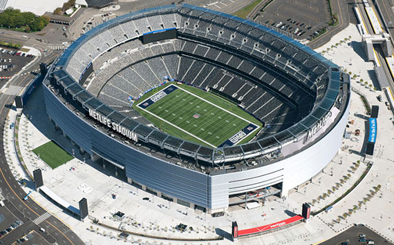 MetLife Stadium, formerly known as Giants Stadium