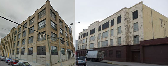 From left: 3rd Ward's former 195 Morgan Avenue location in Bushwick and 1000 Dean Street